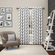 Pairs To Go 2-pack Dewitt Window Curtains