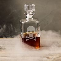 Cathy's Concepts 34-oz. Skull & Crossbones Glass Decanter