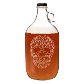 Cathy's Concepts 64-oz. Sugar Skull Craft Beer Growler
