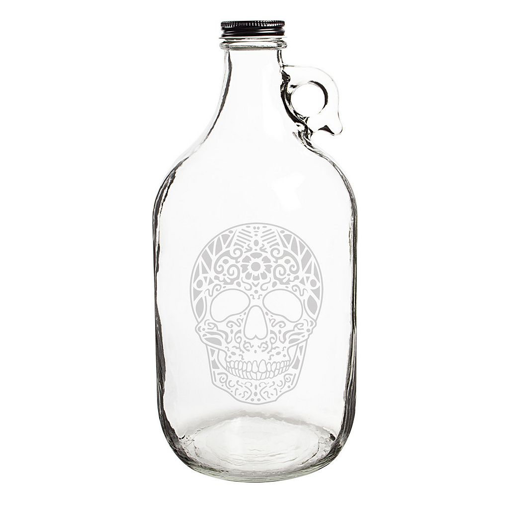 Cathy's Concepts 64-oz. Sugar Skull Craft Beer Growler