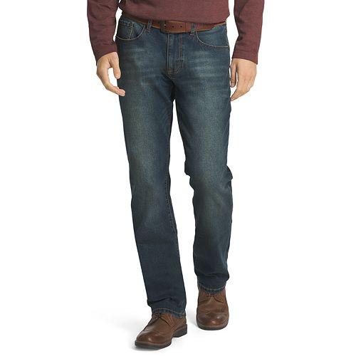 Men's IZOD Comfort-Stretch Straight Fit Jeans