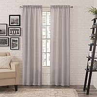 Pairs To Go 2-pack Teller Curtain