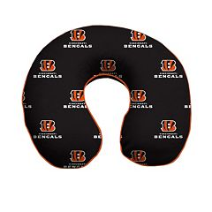 Cincinnati Bengals Memory Foam Travel Pillow