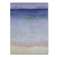 Trademark Fine Art The Iles d'Or 1891-92 Canvas Wall Art