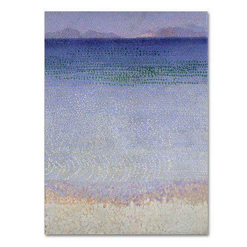 Trademark Fine Art The Iles d'Or 1891-92 Canvas Wall Art