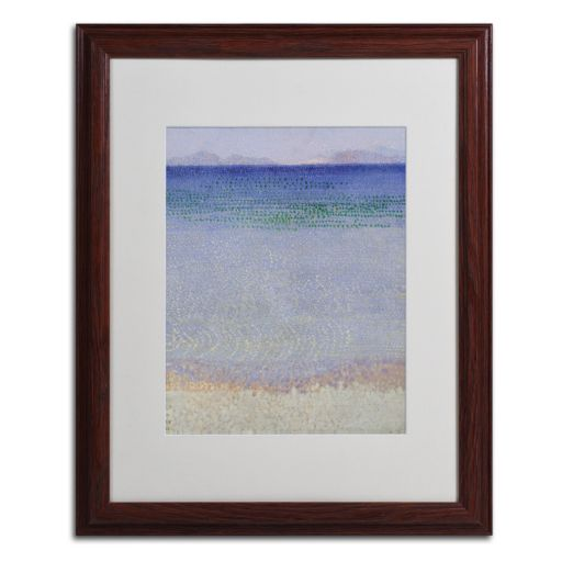 Trademark Fine Art The Iles d'Or 1891-92 Framed Wall Art