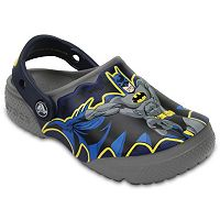 Crocs DC Comics Batman Kids' Glow-In-The-Dark Clogs