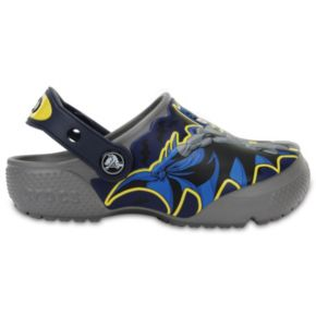 Crocs DC Comics Batman Kids' Glow-In-The-Dark Clogs