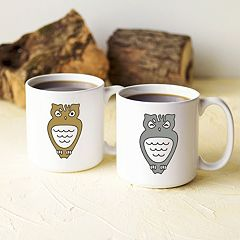 Cathy's Concepts Owl Coffee Mug Set