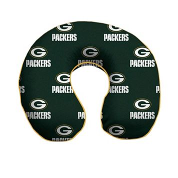 Green Bay Packers Memory Foam Travel Pillow