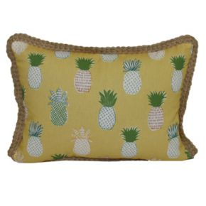 SONOMA Goods for Life? Pineapple Indoor Outdoor Oblong Throw Pillow