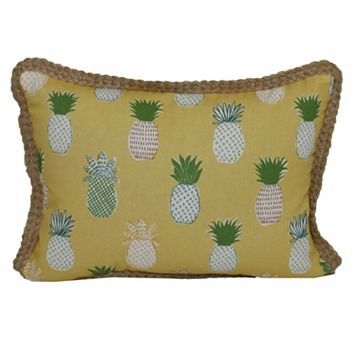 SONOMA Goods for Life™ Pineapple Indoor Outdoor Oblong Throw Pillow