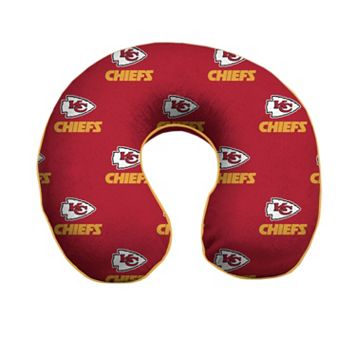 Kansas City Chiefs Memory Foam Travel Pillow
