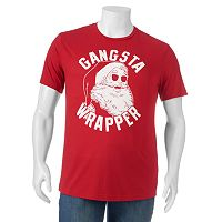 Big & Tall Santa Wrapper Tee