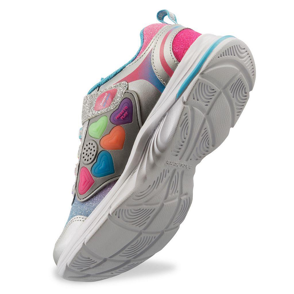 Skechers Game Kicks Swift Kicks Super Skillz Girls' Light-Up Shoes