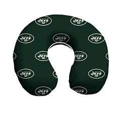 New York Jets Memory Foam Travel Pillow