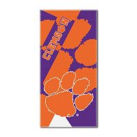 Clemson Tigers Puzzle Oversize Beach Towel by Northwest