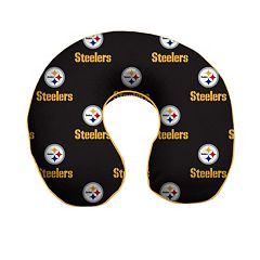 Pittsburgh Steelers Memory Foam Travel Pillow