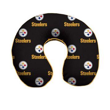 Pittsburgh Steelers Memory Foam Travel Pillow