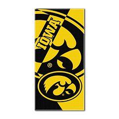 Iowa Hawkeyes Puzzle Oversize Beach Towel by Northwest