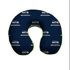 Seattle Seahawks Memory Foam Travel Pillow
