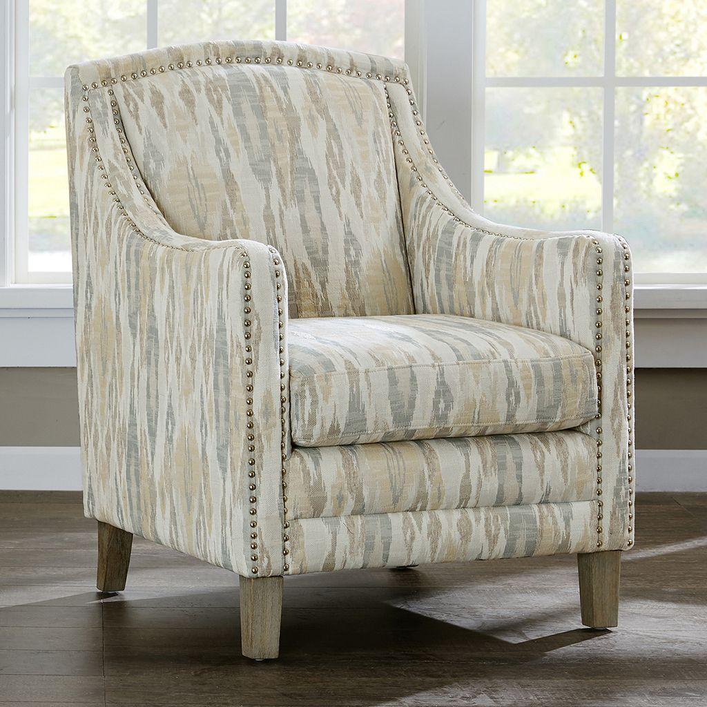 Madison Park Joanne Ikat Club Arm Chair