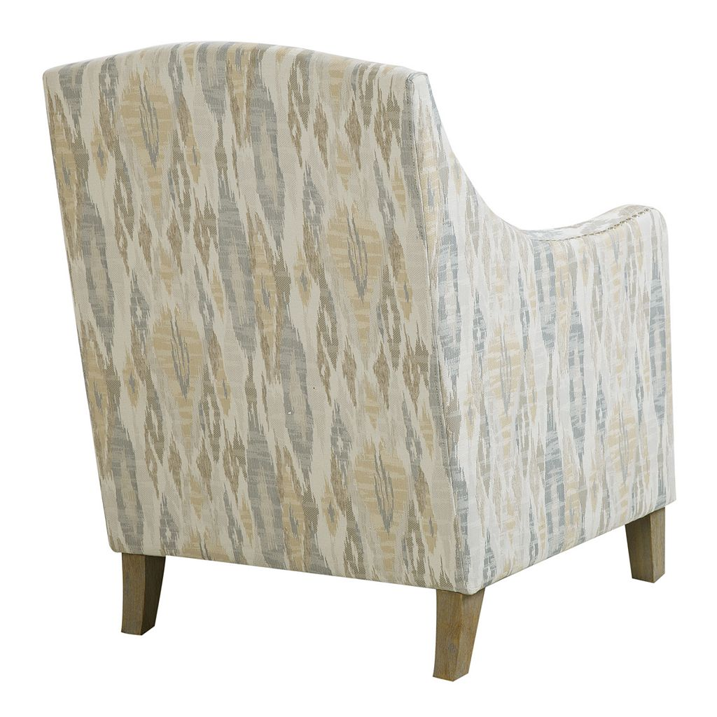 Madison Park Joanne Ikat Club Arm Chair