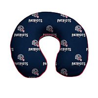 New England Patriots Memory Foam Travel Pillow