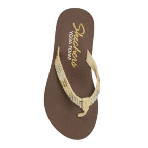 Skechers Cali Meditation Smooth Sails Women's Micro-Studded Flip-Flops