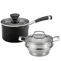 Circulon Acclaim 2-qt. Stainless Steel Covered Multi Pot Set
