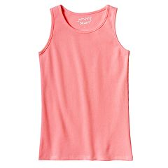 Girls 4-10 Jumping Beans® Basic Ribbed Tank Top