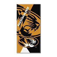 Missouri Tigers Puzzle Oversize Beach Towel by Northwest