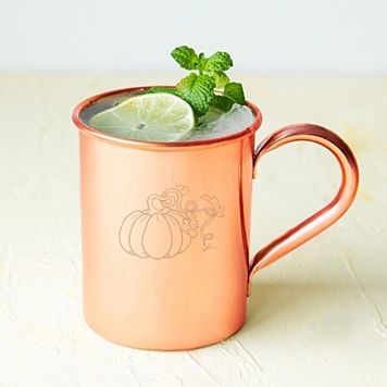 Cathy's Concepts Harvest Pumpkin Copper Mug