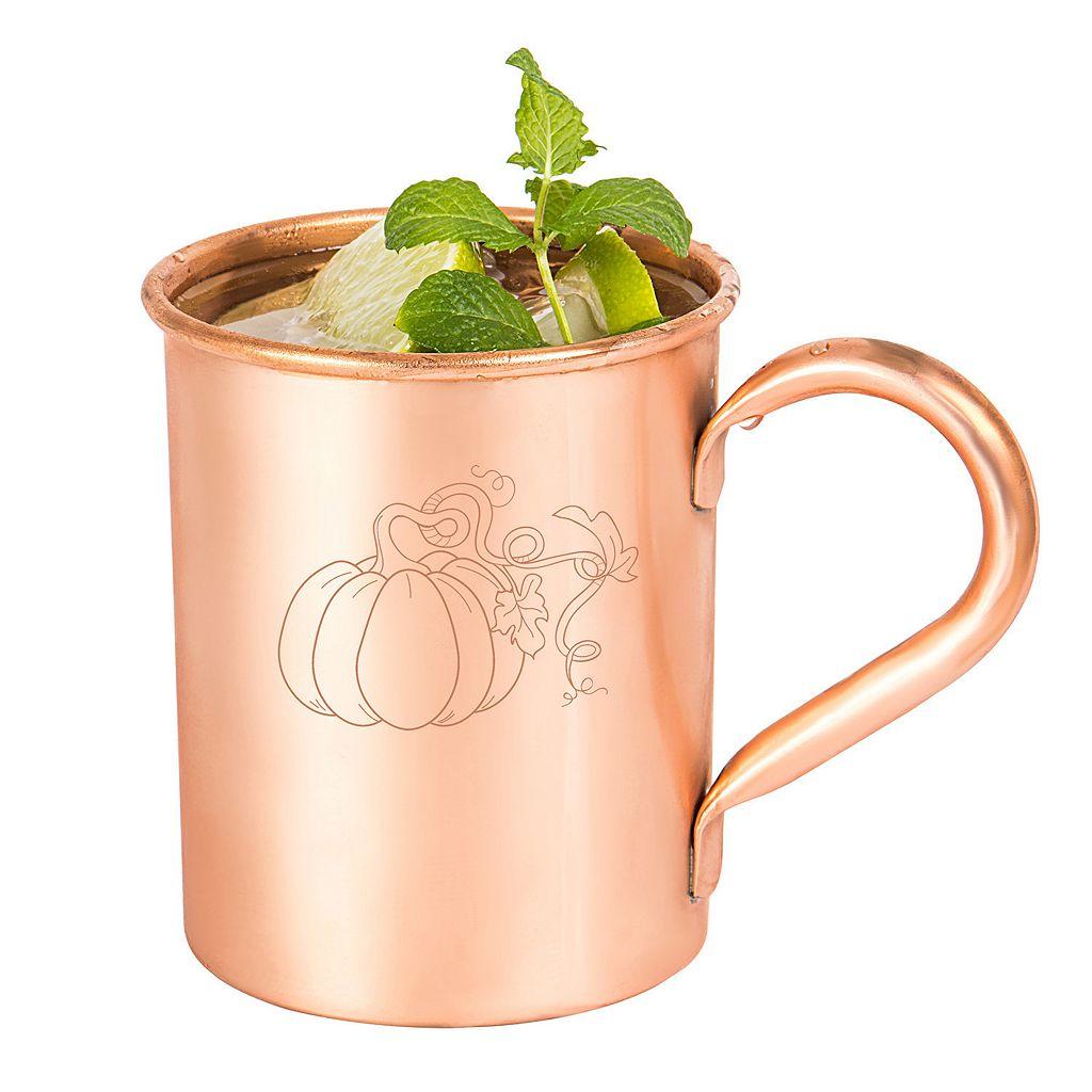 Cathy's Concepts Harvest Pumpkin Copper Mug