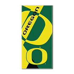 Oregon Ducks Puzzle Oversize Beach Towel by Northwest