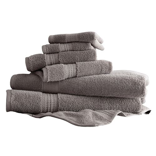 Amrapur 6-piece Luxury Spa Bath Towel Set