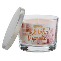 SONOMA Goods for Life™ Pink Velvet Cupcake 5-oz. Candle Jar