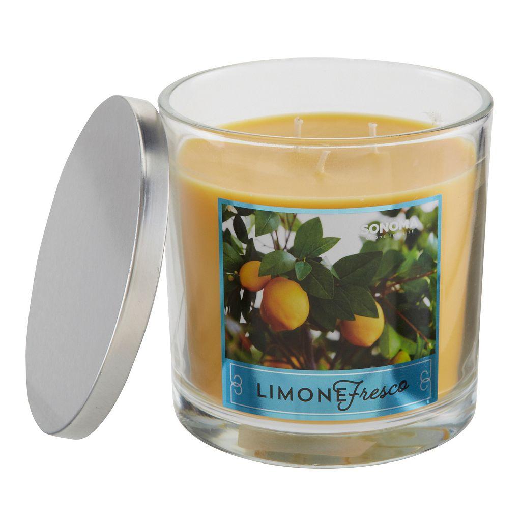 SONOMA Goods for Life™ Limone Fresco 14-oz. Candle Jar