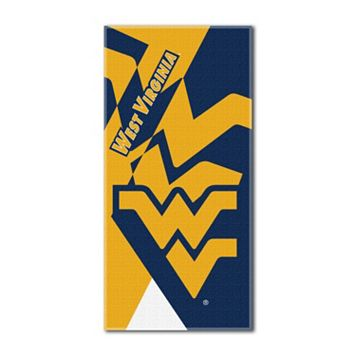 West Virginia Mountaineers Puzzle Oversize Beach Towel by Northwest