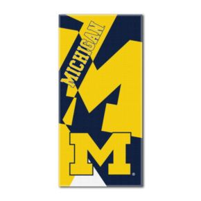 Michigan Wolverines Puzzle Oversize Beach Towel by Northwest