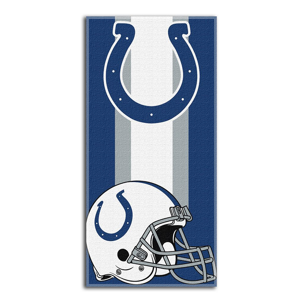 Indianapolis Colts Zone Beach Towel