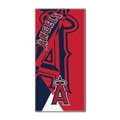 Los Angeles Angels of Anaheim Puzzle Oversize Beach Towel by Northwest