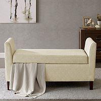 Madison Park Teagan Arm Storage Bench