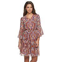 Petite Chaya Paisley Blouson Dress
