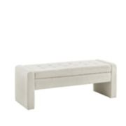 Madison Park Payden Tufted Storage Bench