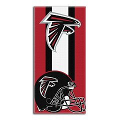 Atlanta Falcons Zone Beach Towel