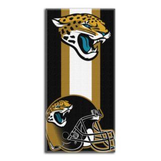 Jacksonville Jaguars Zone Beach Towel