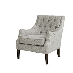 Madison Park Elle Button Tufted Arm Chair