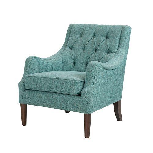 Madison Park Elle Button Tufted Arm Chair