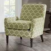 Madison Park Clara Quatrefoil Club Arm Chair